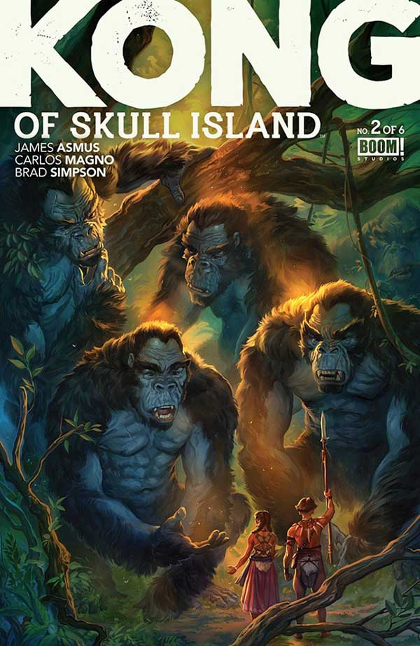 【很好看】《金刚:骷髅岛》未映先红 全新漫画打造金刚宇宙