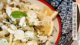 【四叶小厨房】花食:槐花的做法步骤:3